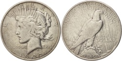 Us Coins - UNITED STATES, Peace Dollar, Dollar, 1922, U.S. Mint, KM #150, ,...