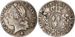 World Coins - Coin, France, Louis XV, 1/20 Écu à la vieille tête, 1779, Paris,