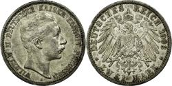 World Coins - Coin, German States, PRUSSIA, Wilhelm II, 2 Mark, 1903, Berlin, AU(50-53)