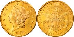 Us Coins - Coin, United States, $20, Double Eagle, 1899, San Francisco, , Gold