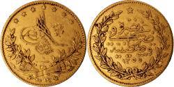 World Coins - Coin, Turkey, Abdul Mejid, 50 Kurush, 1844, Qustantiniyah, , Gold