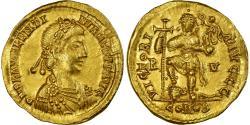 Coin, Valentinian III, Solidus, Ravenna, , Gold, Cohen:19
