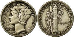 Us Coins - Coin, United States, Mercury Dime, Dime, 1941, U.S. Mint, Denver,