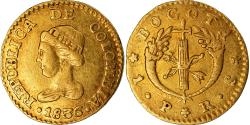 World Coins - Coin, Colombia, Peso, 1836, Bogota, , Gold, KM:84