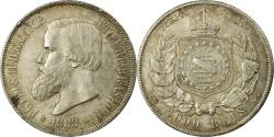 World Coins - Coin, Brazil, Pedro II, 2000 Reis, 1888, , Silver, KM:485