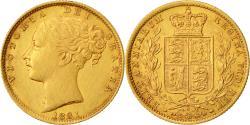 Ancient Coins - Coin, Australia, Elizabeth II, Sovereign, 1881, Sydney, AU(55-58), Gold, KM:6