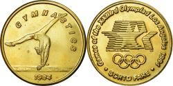 Us Coins - United States of America, Medal, Jeux Olympiques de Los Angelès, Gymnastique