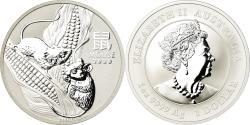 World Coins - Coin, Australia, Année de la souris, Dollar, 2020, Royal Australian Mint