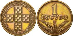 World Coins - Coin, Portugal, Escudo, 1971, , Bronze, KM:597