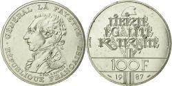 World Coins - Coin, France, Lafayette, 100 Francs, 1987, Piéfort, , Silver, KM:P991a