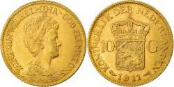 Ancient Coins - Coin, Netherlands, Wilhelmina I, 10 Gulden, 1911, , Gold, KM:149