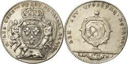 World Coins - France, Token, Conseillers Royaux, Notaires de Lyon, 1715, , Silver