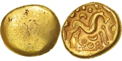 Ambiani, Area of Amiens, Stater, , Gold, Delestré:242