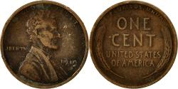 Us Coins - Coin, United States, Lincoln Cent, Cent, 1919, U.S. Mint, Philadelphia