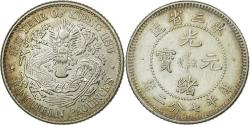 World Coins - Coin, China, MANCHURIAN PROVINCES, Kuang-hs, 10 Cents, Year 33 (1907)