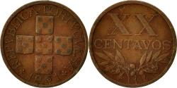 World Coins - Coin, Portugal, 20 Centavos, 1961, , Bronze, KM:584
