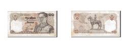 World Coins - Thailand, 10 Baht, 1980, KM #87, EF(40-45), 2D1582964