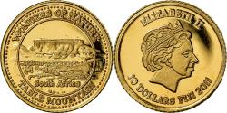 World Coins - Coin, Fiji, Elizabeth II, 10 Dollars, 2011, , Gold, KM:303