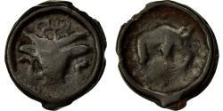 Ancient Coins - Coin, Potin au Bucrane, Remi, VF(30-35), Potin, Delestrée:221