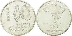 World Coins - Coin, Brazil, 20 Cruzeiros, 1972, Paris, ESSAI, , Silver, KM:Pr6