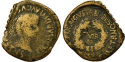 Ancient Coins - Coin, Spain, Tiberius, As, Bilbilis, F(12-15), Copper