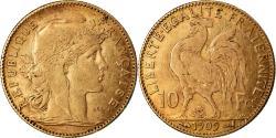 Ancient Coins - Coin, France, Marianne, 10 Francs, 1909, Paris, , Gold, KM:846