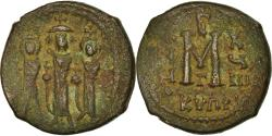 Ancient Coins - Coin, Heraclius, with Martina and Heraclius Constantine, Follis, 627-628