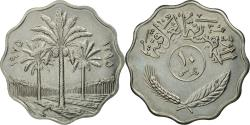 World Coins - Coin, Iraq, 10 Fils, 1975, , Stainless Steel, KM:142