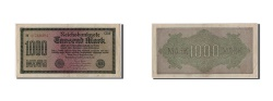 World Coins - Germany, 1000 Mark, 1922, 1922-09-15, EF(40-45)