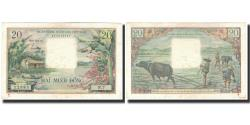 World Coins - Banknote, South Viet Nam, 20 Dng, 1956, KM:4a, UNC(60-62)