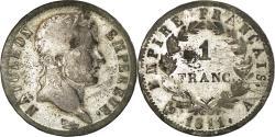 World Coins - Coin, France, Napoléon I, Franc, 1811, Paris, , Silver, KM:692.1