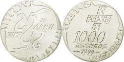World Coins - Coin, Portugal, 1000 Escudos, 1999, , Silver, KM:715