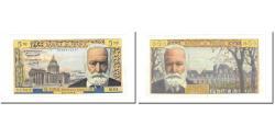 World Coins - France, 5 Nouveaux Francs, Victor Hugo, 1961, 1961-11-02, AU(55-58)