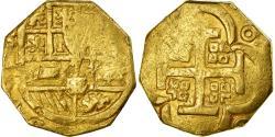 World Coins - Coin, Spain, Philipp IV, 4 Escudos, Seville, , Gold