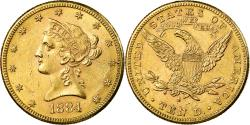 Us Coins - Coin, United States, Coronet Head, $10,1884, Philadelphia, , KM 102
