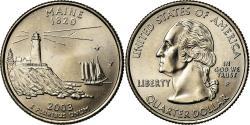 Us Coins - Coin, United States, Maine, Quarter, 2003, U.S. Mint, Philadelphia,