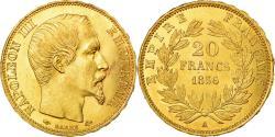 Ancient Coins - Coin, France, Napoleon III, Napoléon III, 20 Francs, 1856, Paris,