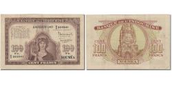 World Coins - Banknote, New Caledonia, 100 Francs, 1942, Undated (1942), KM:46a, EF(40-45)