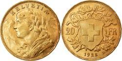 Ancient Coins - Coin, Switzerland, 20 Francs, 1922, Berne, , Gold, KM:35.1