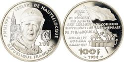 World Coins - Coin, France, 100 Francs, 1994, BE, , Silver, KM:1039, Gadoury:C73