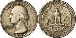 Us Coins - Coin, United States, Washington Quarter, Quarter, 1970, U.S. Mint, Philadelphia