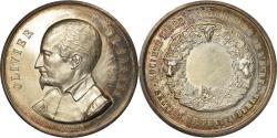 World Coins - France, Medal, Olivier de Serres, Agriculture de l'Eure, Pont-Audemer, De