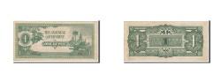 World Coins - Burma, 1 Rupee, 1942, KM #14a, AU(50-53), BD