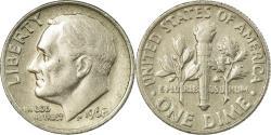 Us Coins - Coin, United States, Roosevelt Dime, Dime, 1968, U.S. Mint, Philadelphia