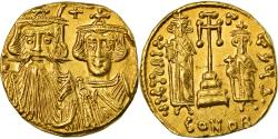 Ancient Coins - Coin, Constans II, Solidus, Constantinople, , Gold, Sear:964