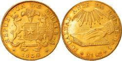 World Coins - Coin, Chile, 8 Escudos, 1836, , Gold, KM:93