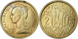 World Coins - Coin, Réunion, 2 Francs, 1948, ESSAI, , Copper-nickel, KM:E4