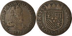 World Coins - Coin, France, Ardennes, Henri de la Tour d'Auvergne, Liard, 1613, Sedan