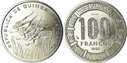 World Coins - Coin, Equatorial Guinea, 100 Francos, 1985, ESSAI, , Nickel, KM:E31