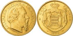 Ancient Coins - Coin, Monaco, Charles III, 100 Francs, Cent, 1884, Paris, , Gold, KM:99